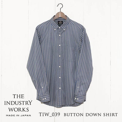 THE INDUSTRY WORKS(ザ・インダストリー・ワークス) | TIW-039 BUTTON DOWN SHIRT