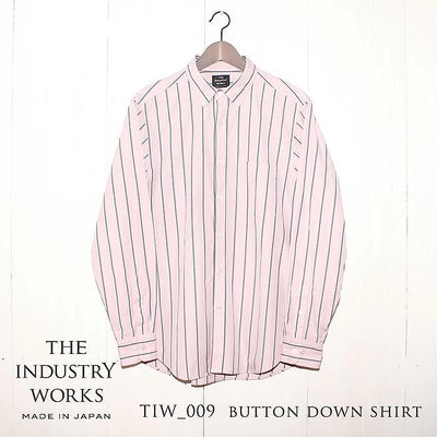 THE INDUSTRY WORKS(ザ・インダストリー・ワークス) | TIW-009 BUTTON DOWN SHIRT